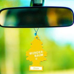 Luchtverfrisser auto citroen situatie