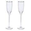Champagneglazen luxe vooraanzicht