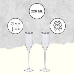 Champagneglazen luxe USP