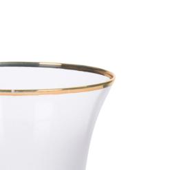 Orange85 Champagneglazen met Gouden Rand Luxe Set van 2 70 x 70 x 245 mm Transparant Vaatwasserbestendig4