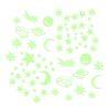 Orange85 Glow in the Dark Sterren 72 Stuks Groen 8,2 x 8,2 cm Stickers Muur Decoratie Slaapkamer 1_voor