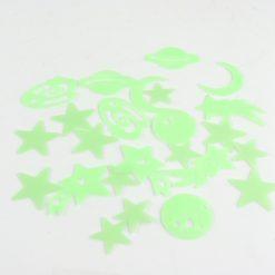 Orange85 Glow in the Dark Sterren 72 Stuks Groen 8,2 x 8,2 cm Stickers Muur Decoratie Slaapkamer 2_detail