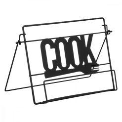 Kookboekstandaard zwart hoofdafbeelding
