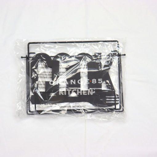 Kookboekstandaard zwart verpakking