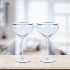 Martini glazen sfeerbeeld