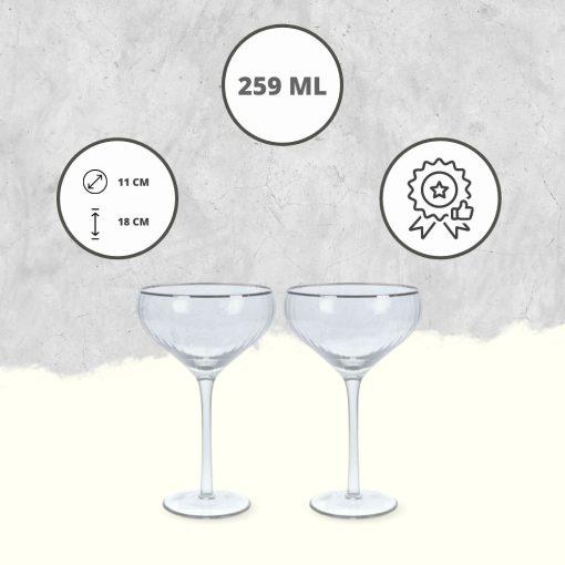 Martini glazen USP