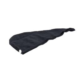 Orange85 Microvezel Handdoek Haar Extra Zacht Zwart 62 x 40 x 22,5 cm Luxe Krullend Haar Producten Duurzaam