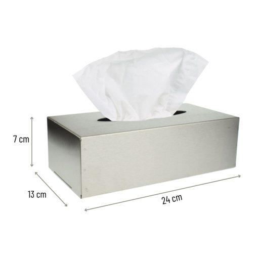 tissuehouder box afmetingen