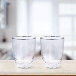 Waterglazen set van 2 sfeer