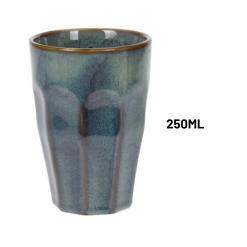Orange85 Cappuccino Mokken 4 Stuks Dubbelwandig 250 ml Porselein Hittebestendig Keuken Accessoires