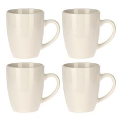 Orange85 Cappuccino Mokken Set van 4 Multicolor 200 ml Dubbelwandig Porselein Koffiebekers1