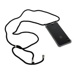 Orange85 Telefoonkoord Inclusief Hoesje voor Iphone X of XS Grijs Telefoonketting