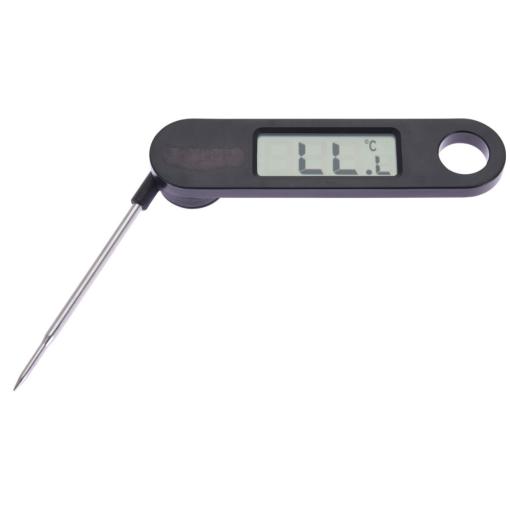 Orange85 Vleesthermometer Digitaal Ophangbaar Zwart 17 x 12 cm Metaal Kernthermometer Bbq Accesoires